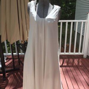 Eileen Fisher 100% Silk Dress Size M Petite